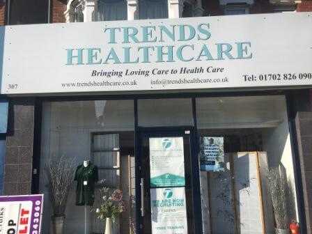 Trends shop front