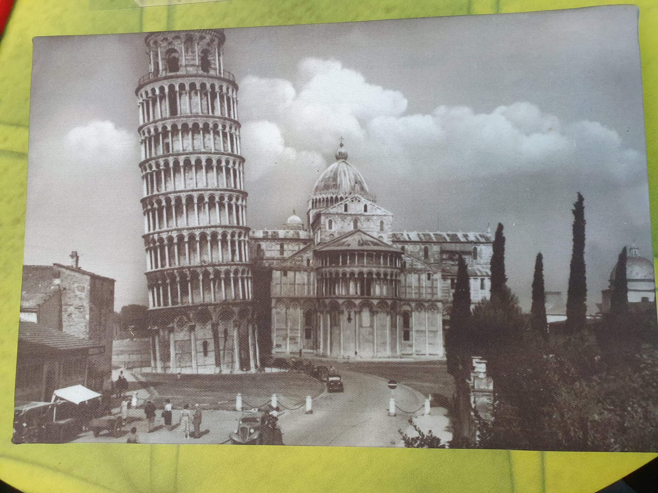 Pisa Tower canvas