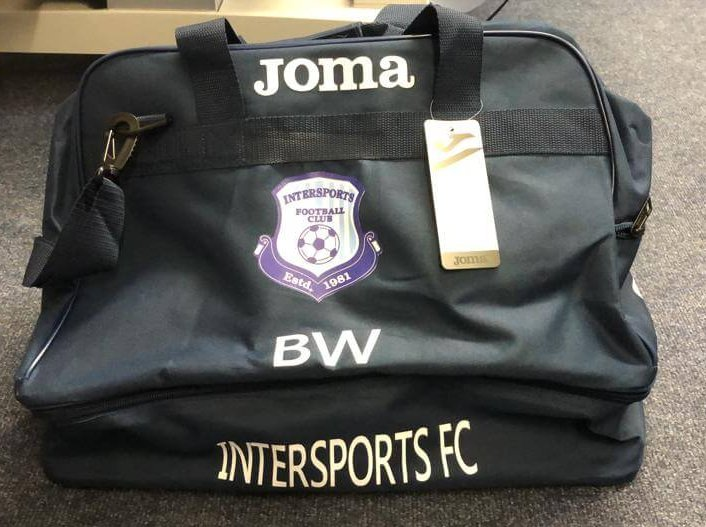 Bag with logo + initials