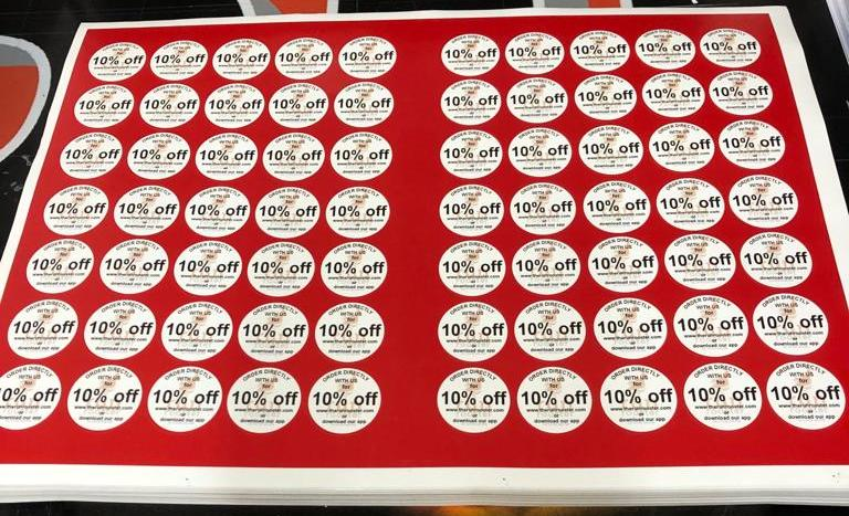 Offer stickers