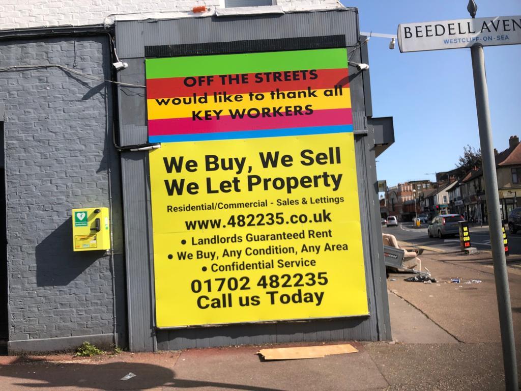 Properties sign