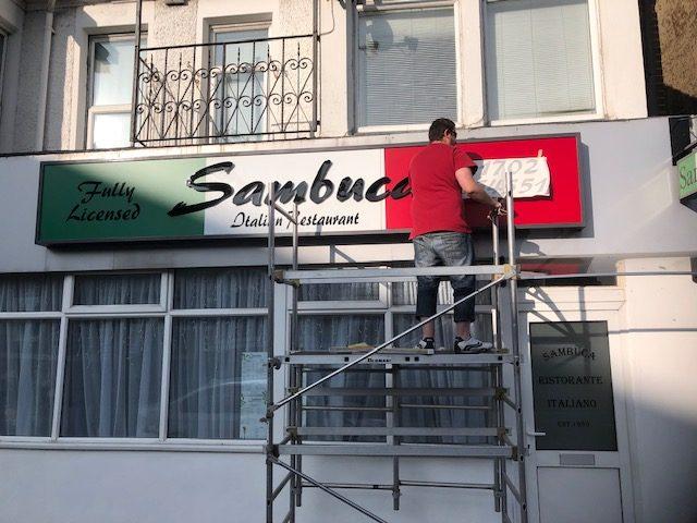Sambuca fitting
