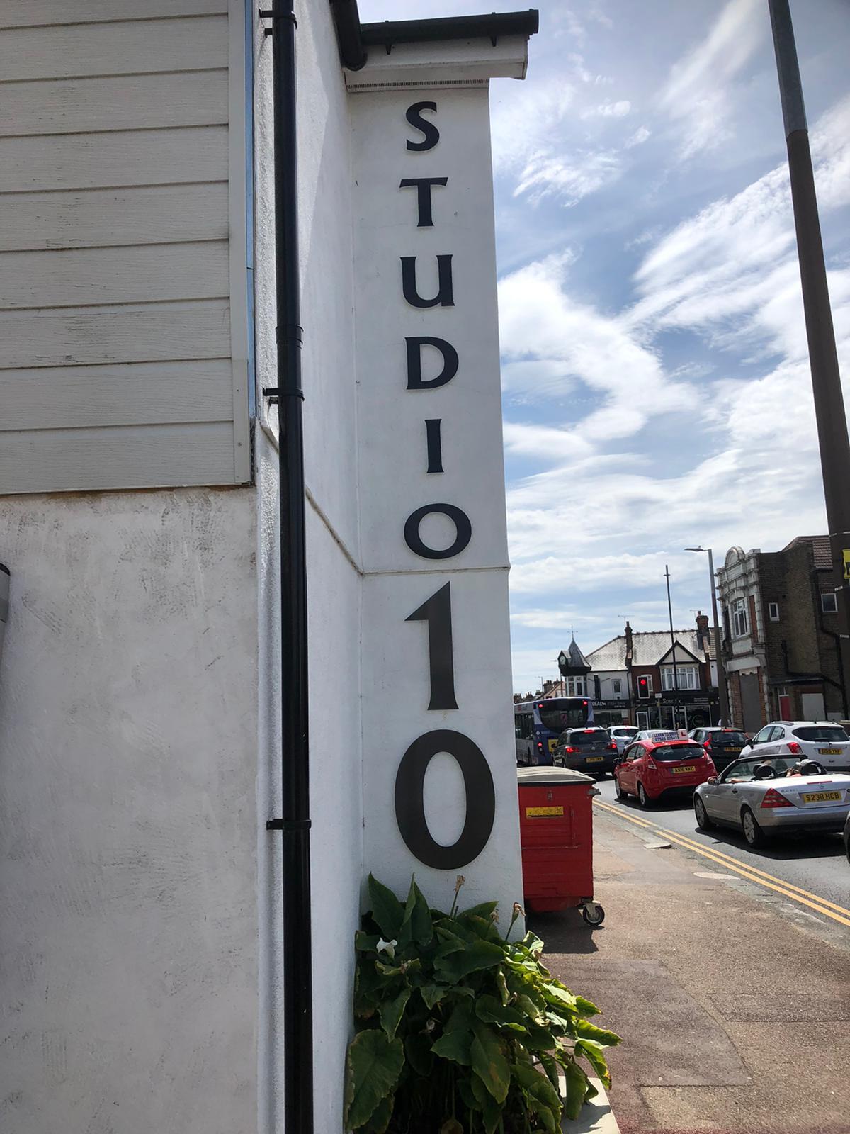 Studio 10 sign