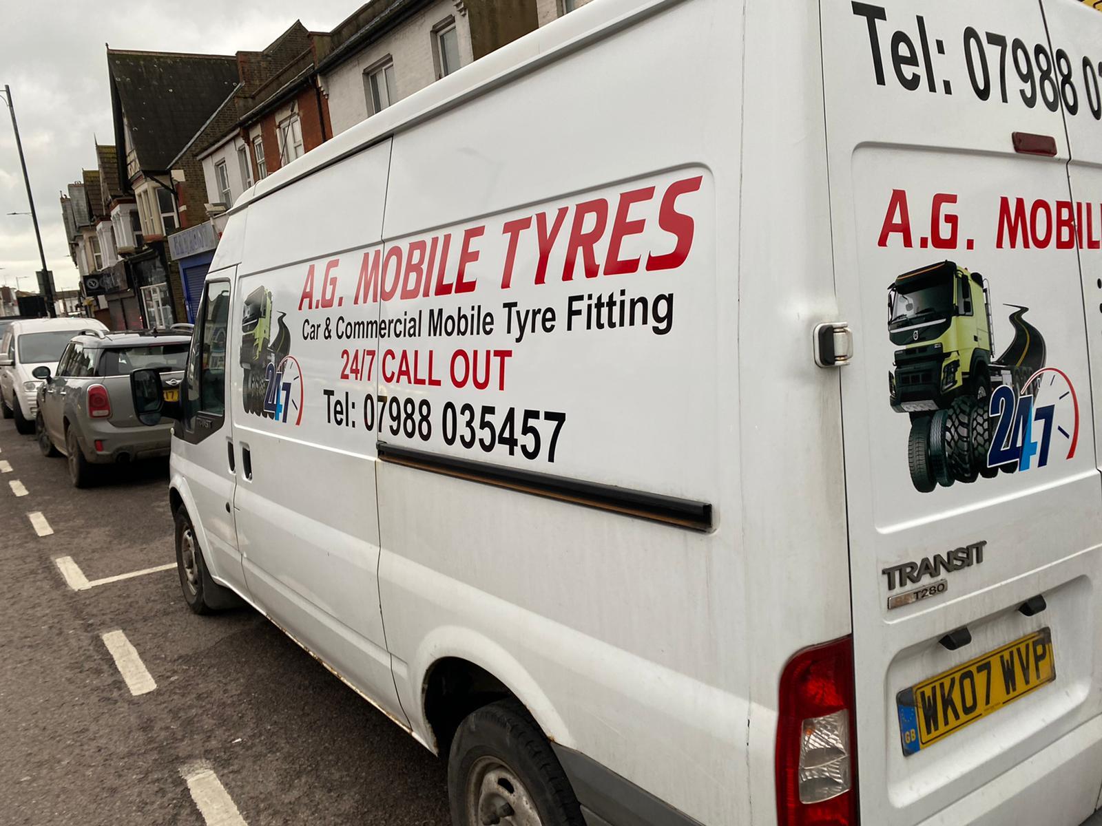 AG Mobile Tyre van